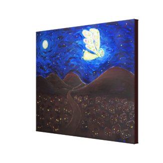 Care of the Soul Angel Painting Wrapped Canvas Art
