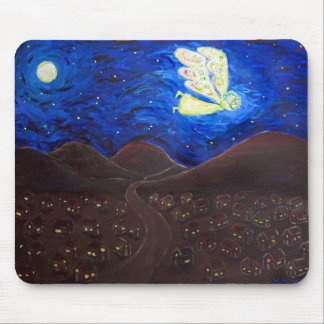 Care of the Soul Guardian Angel Art Mousepad
