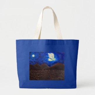 Care of the Soul Guardian Angel Custom Tote Bag