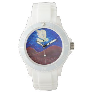 Care of the Soul Guardian Angel Custom Watch