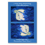 Care of the Soul Inspirational Custom Table Tent Table Cards