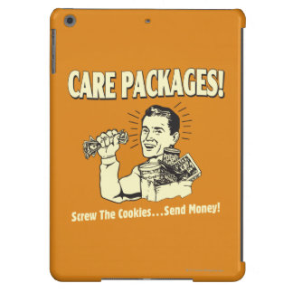 Care Packages: Screw Cookies Send $ iPad Air Covers