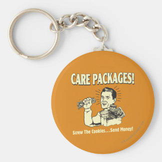 Care Packages: Screw Cookies Send $ Keychain