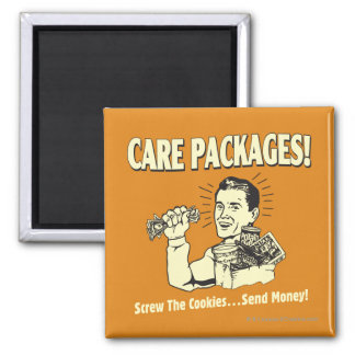 Care Packages: Screw Cookies Send $ 2 Inch Square Magnet