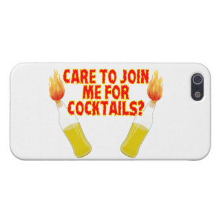Care To Join Me For Molotov Cocktails iPhone SE/5/5s Case