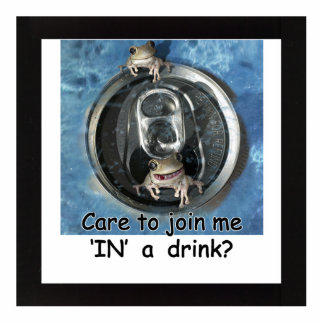 Care to join me IN a drink? Photo Cutout