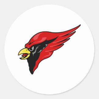 Careem Cardinal Classic Round Sticker