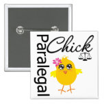 Career Chick Paralegal Buttons