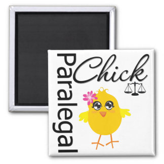 Career Chick Paralegal Fridge Magnets