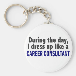 Career Consultant During The Day Key Chains