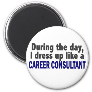 Career Consultant During The Day Refrigerator Magnets