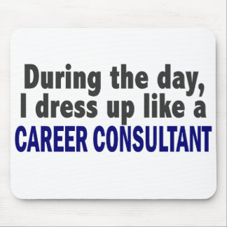 Career Consultant During The Day Mousepads