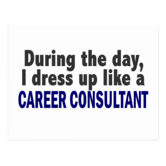 Career Consultant During The Day Postcards