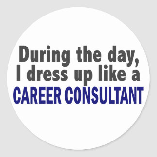 Career Consultant During The Day Sticker