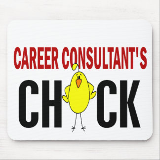 Career Consultant's Chick Mouse Mat