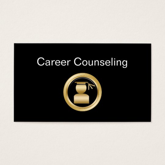 Career Counseling Business Cards Zazzlecom