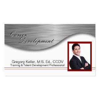 Career Development Business Card - Professional
