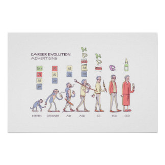 Career Evolution Poster - Small