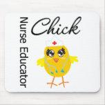 Career Nurse Chick  - Nurse Educator Mouse Pads