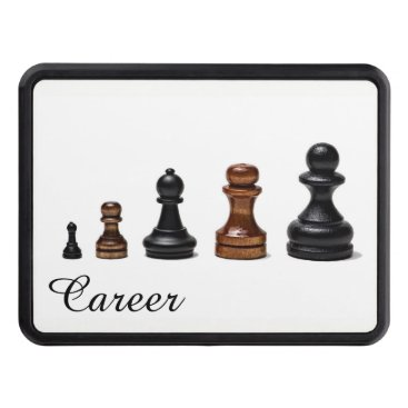 Professional Business Career Path Tow Hitch Cover