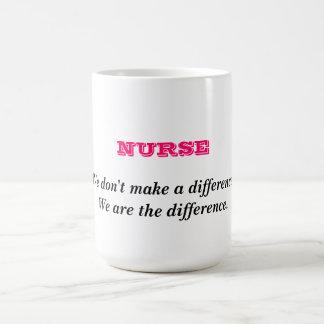 Career Series Mugs-Nurse Classic White Coffee Mug