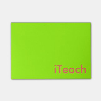 Career Series-Teachers Post-it® Notes