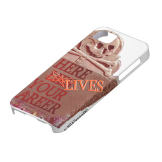 Career Tombstone Sepia iPhone Case iPhone 5 Case