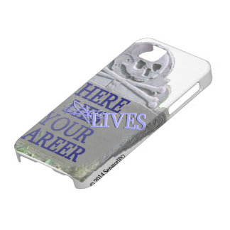 Career Tombstone Slate iPhone Case iPhone 5 Case