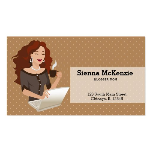 Career woman business card zazzle for Business cards for women