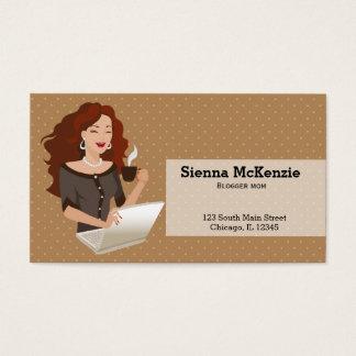 Career Woman Business Card