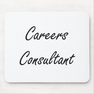 Careers Consultant Artistic Job Design Mouse Pad