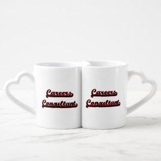 Careers Consultant Classic Job Design Couples' Coffee Mug Set