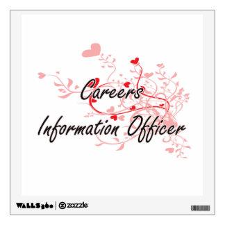 Careers Information Officer Artistic Job Design wi Wall Skin