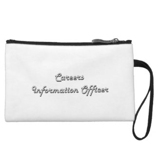 Careers Information Officer Classic Job Design Wristlet Clutches