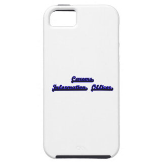 Careers Information Officer Classic Job Design iPhone 5 Cases