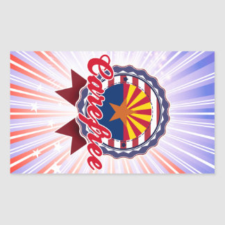 Carefree, AZ Rectangle Sticker