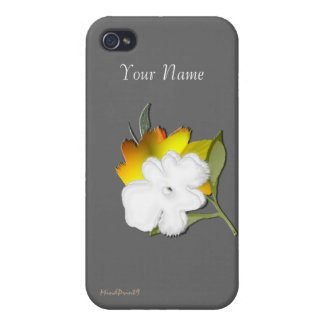 Carefree Bouquet iPhone 4 Cases