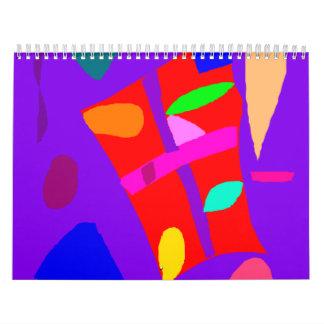 Carefree Vacation Rice Paddy Story Heart Calendar