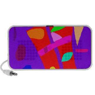 Carefree Vacation Rice Paddy Story Heart iPod Speakers