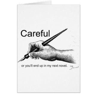 Careful! Card
