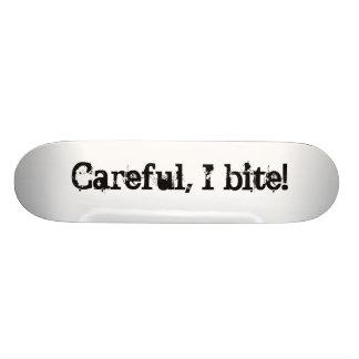 Careful, I bite! Skateboard Deck