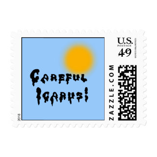 Careful Icarus! Postage Stamp