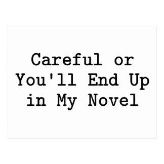 Careful or Novel Postcard