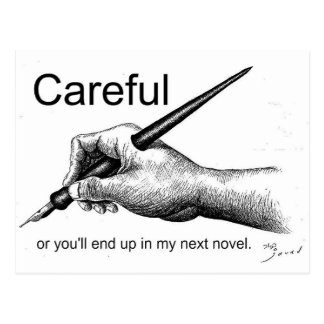 Careful! Post Card