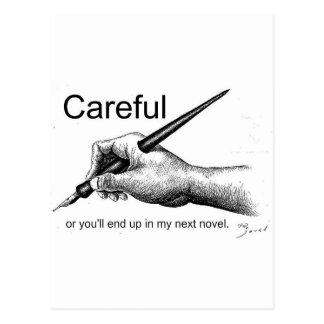 Careful! Postcards