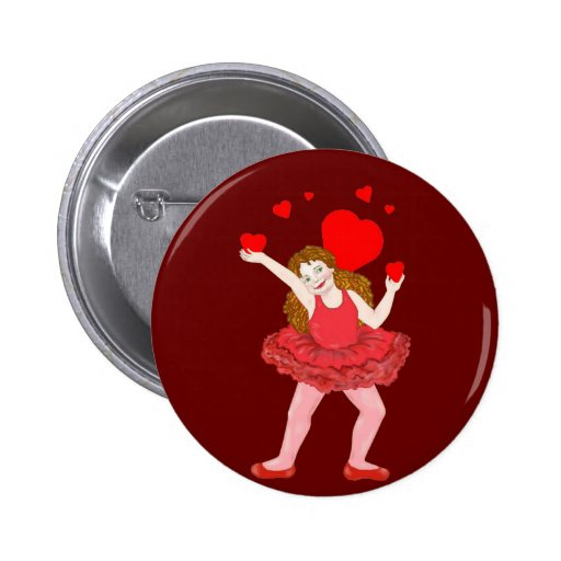 Careful With My Heart 2 Inch Round Button