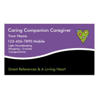 Caregiver Business Cards