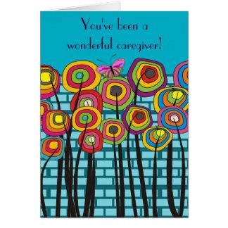 Caregiver Thank You Card #7