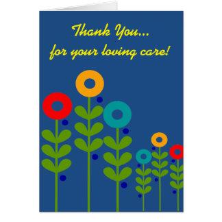 Caregiver Thank You Card III