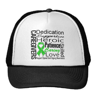 Caregivers Collage Spinal Cord Injury Trucker Hat